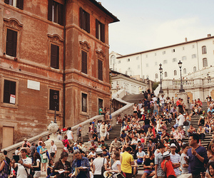 rome and street image