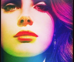 lana del rey, lana, and lips image