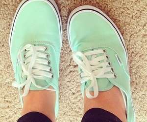 vans, shoes, and girly image