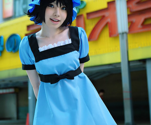 cosplay, girl, and steins gate image