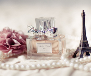 paris, perfume, and dior image