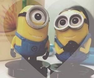 love and minions image