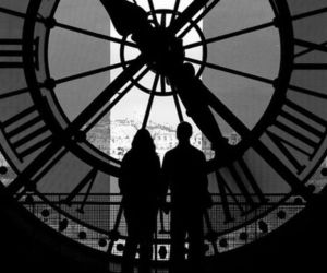 couple, love, and clock image