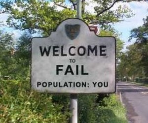 fail, funny, and you image