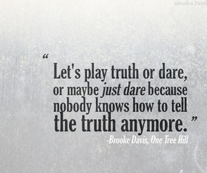 quote, truth, and brooke davis image