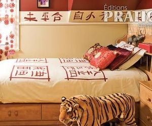 bed room, chinese, and home image