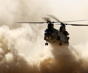 army, helicopter, and military image