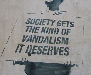 society, vandalism, and graffiti image