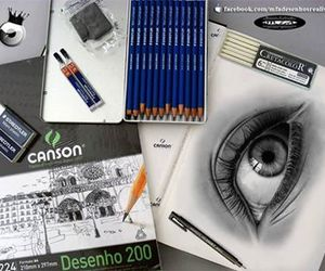 cool, draw, and eye image