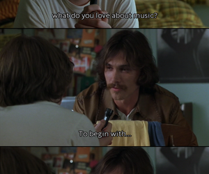 music, almost famous, and movie image