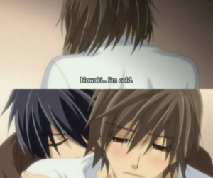cold, yaoi, and junjou romantica image