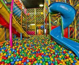 fun, ball, and colorful image