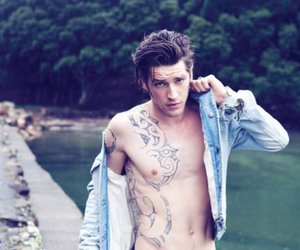 boy, tattoo, and guy image