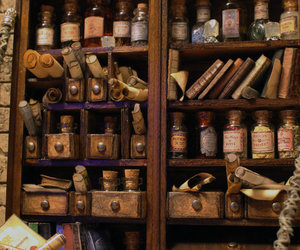 magic, potions, and book image