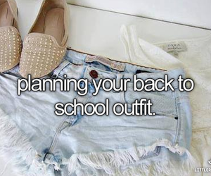 outfit, fashion, and school image