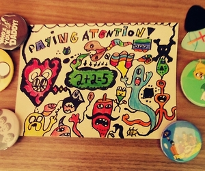 art, draw, and hipster image