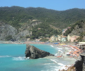 beach, italy, and ocean image