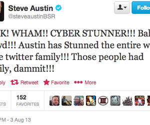 twitter, wwe, and stone cold image