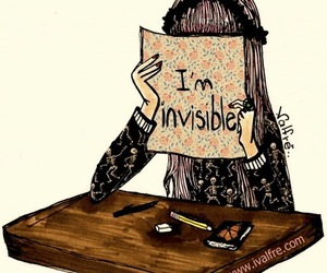 invisible and sad image