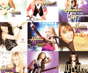 colors, hannah montana, and cool image