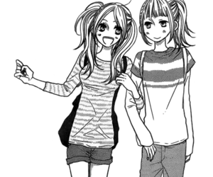 anime, manga friends, and bff image