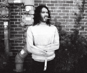 russell brand, cigarette, and photography image