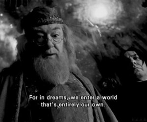 harry potter, Dream, and dumbledore image
