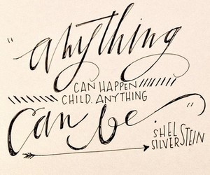 calligraphy, inspire, and quote image