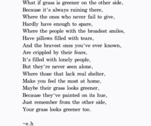 poem, quote, and smile image