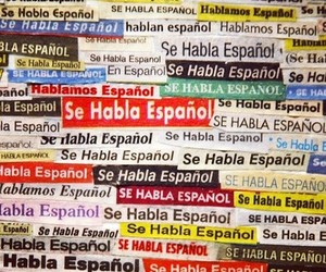 espanol, latino, and spanish image