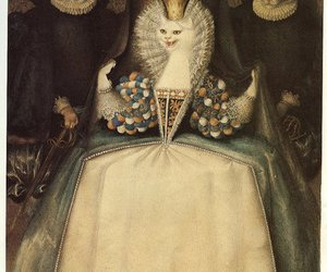 cat and Queen image