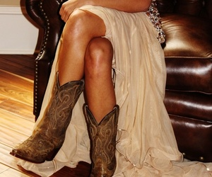 boots, country, and sexy image