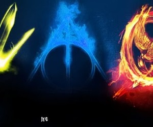 percy jackson, harry potter, and hp image