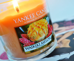 candle, yankee, and melon image