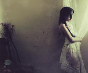 selfportrait, kristamas, and ©klousch image