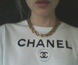 chanel, grunge, and pale image
