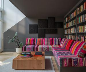 books, decor, and interior image
