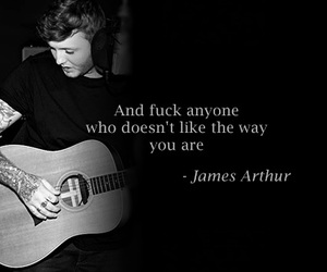 quote, james arthur, and arthur image