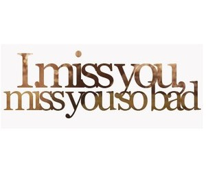 bad, emotional, and miss you image