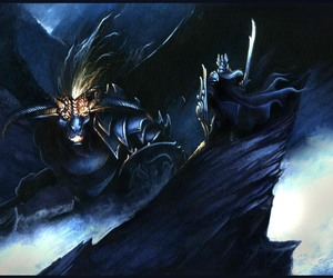 balrog, tolkien, and silmarillion image