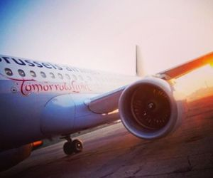 Tomorrowland, airplane, and party image