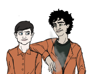 misfits, nathan, and simon image
