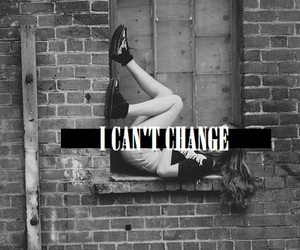 girl, change, and quote image