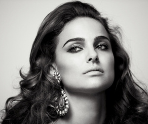 natalie portman, black and white, and actress image