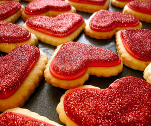 houdaxi and cookies valentine's day image