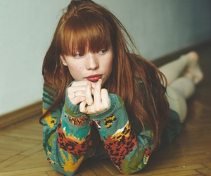 girl, ginger, and red hair image