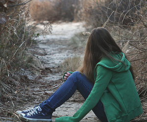 girl, alone, and photography image