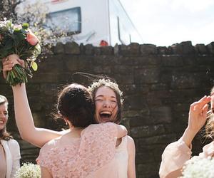 wedding, happy, and smile image