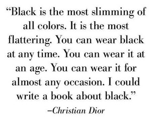 black, fashion, and quote image