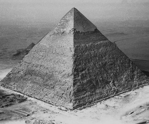 pyramid, egypt, and photography image